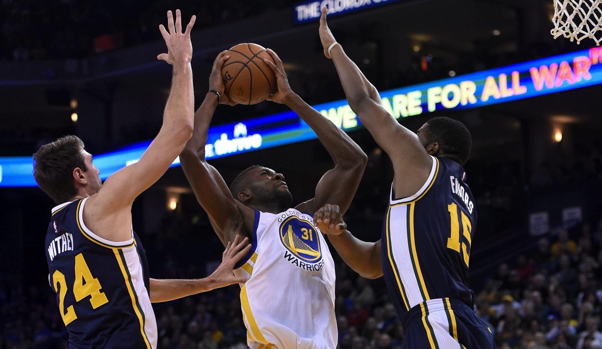 NBA: Warriorsi mogu i bez Curryja, tri koša Rudeža
