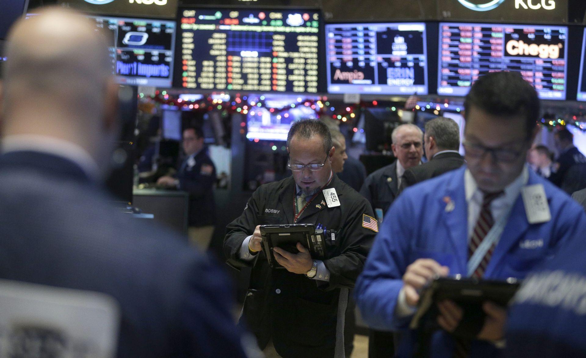 SVJETSKA TRŽIŠTA: Na Wall Streetu najgori početak godine u povijesti