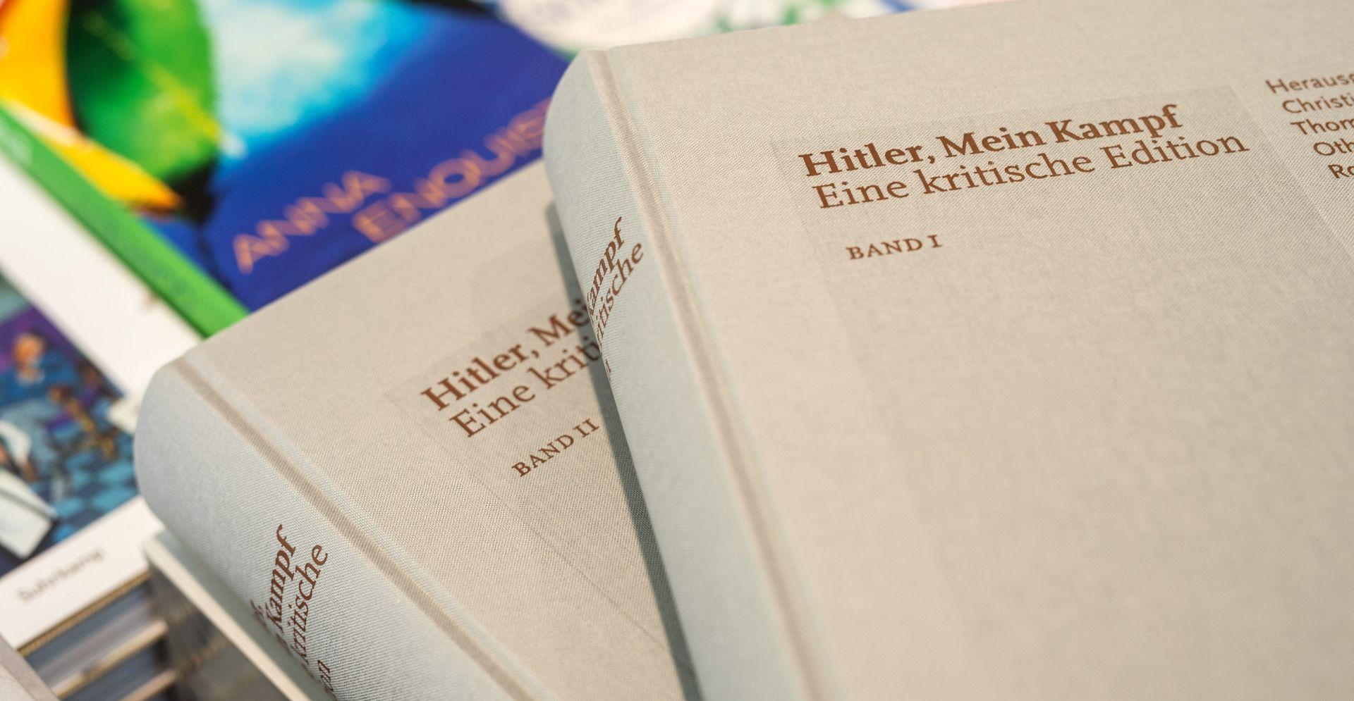 """Predstavljano komentirano izdanje """"Mein Kampfa"""""""
