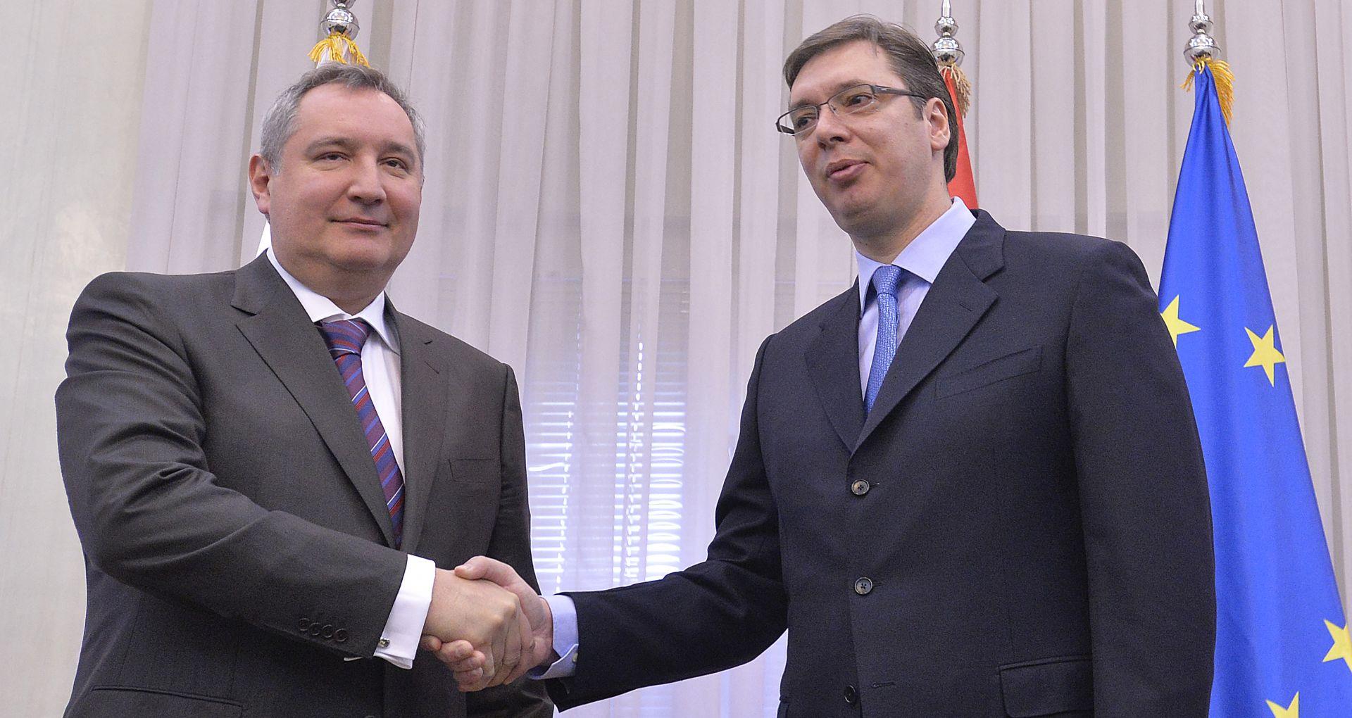 """POTPREDSJEDNIK RUSKE VLADE ROGOZIN O KOTROMANOVIĆU """"Jezik mu klatara kao kravata'"""