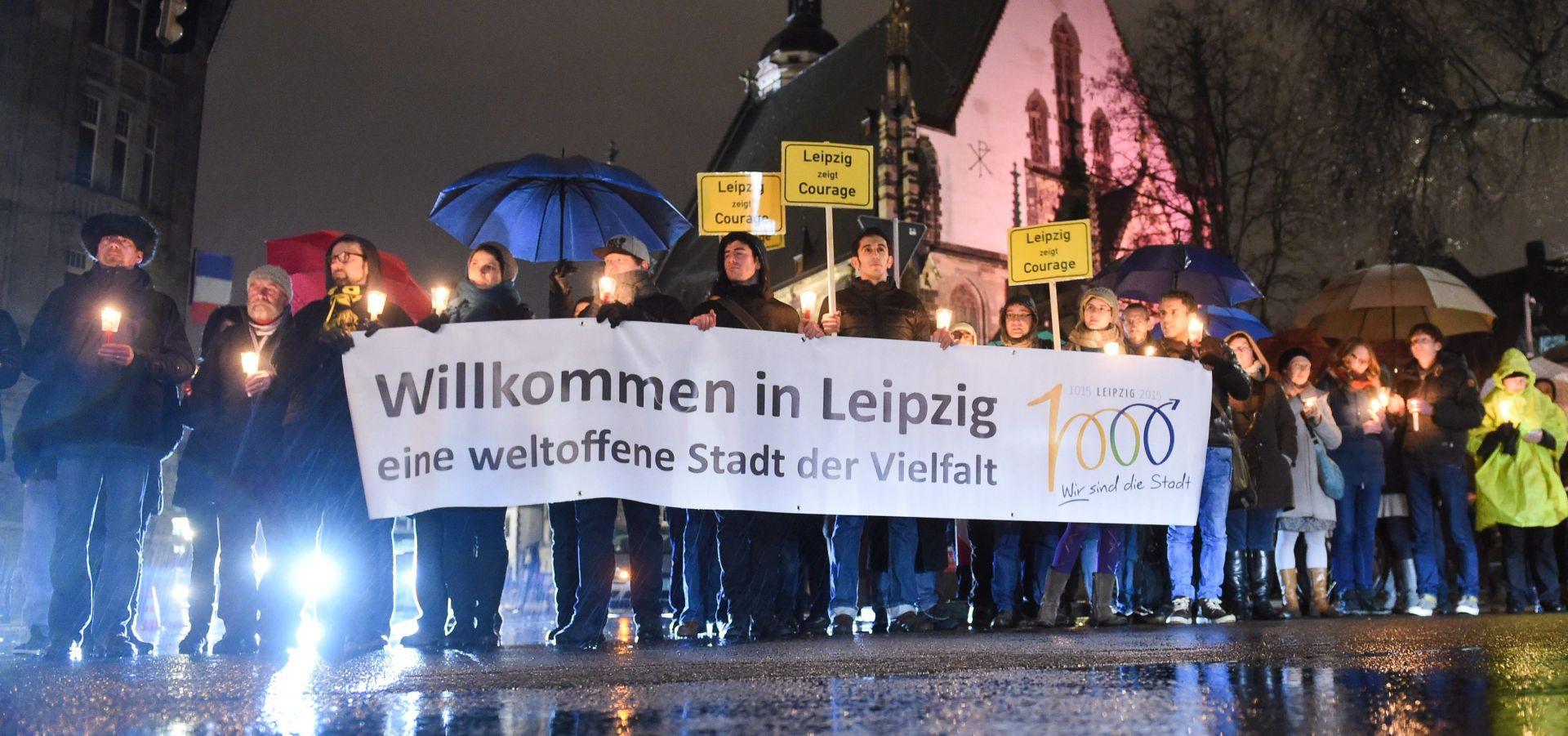 Tisuće protivnika migranata prosvjedovali u Leipzigu