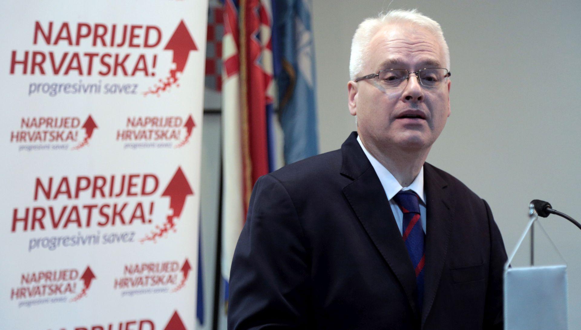 Ivo Josipović ostaje predsjednik stranke Naprijed Hrvatska! – Progresivni savez