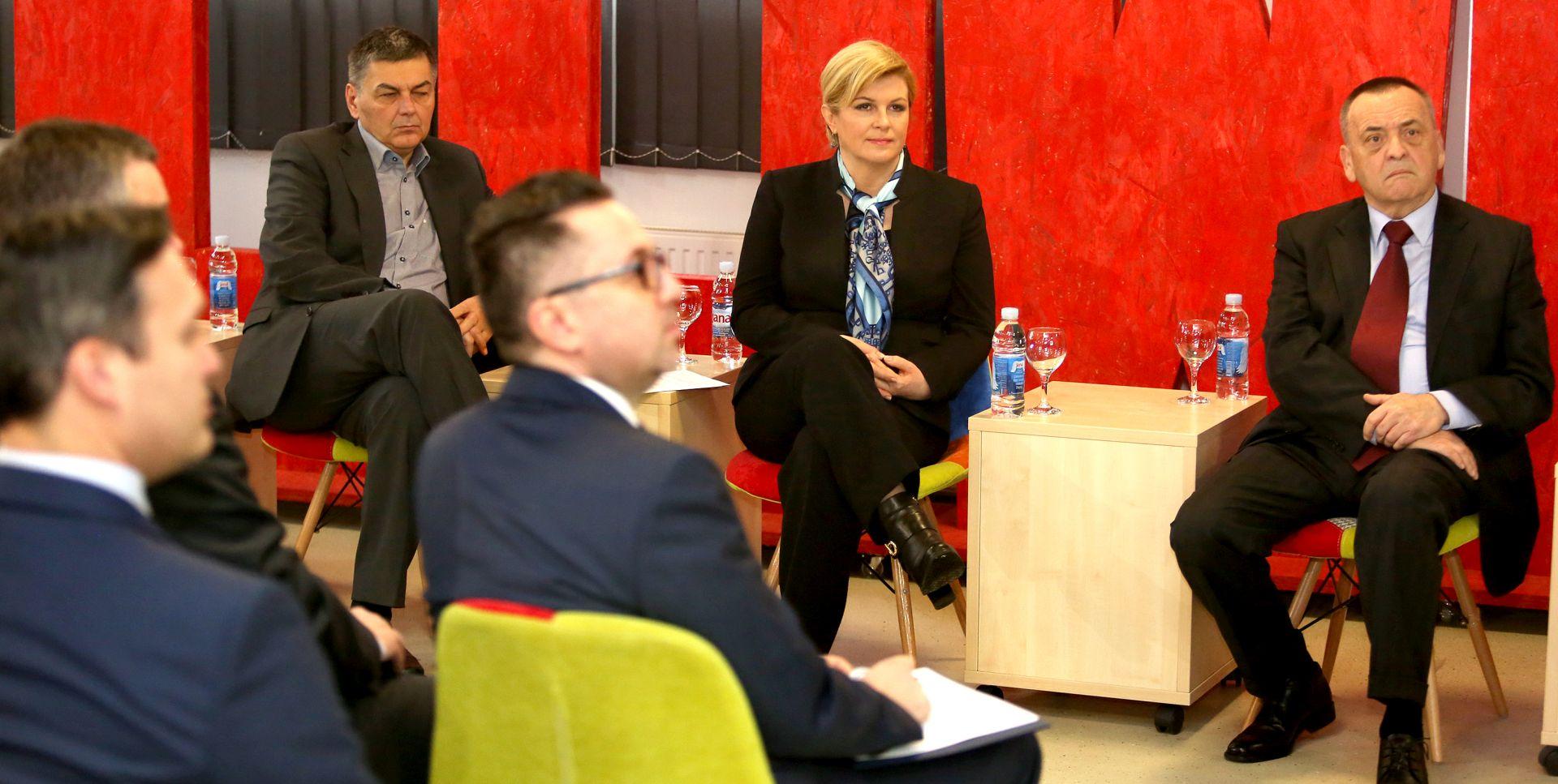 Grabar-Kitarović: Osjeća se optimizam da se izvlačimo iz recesije
