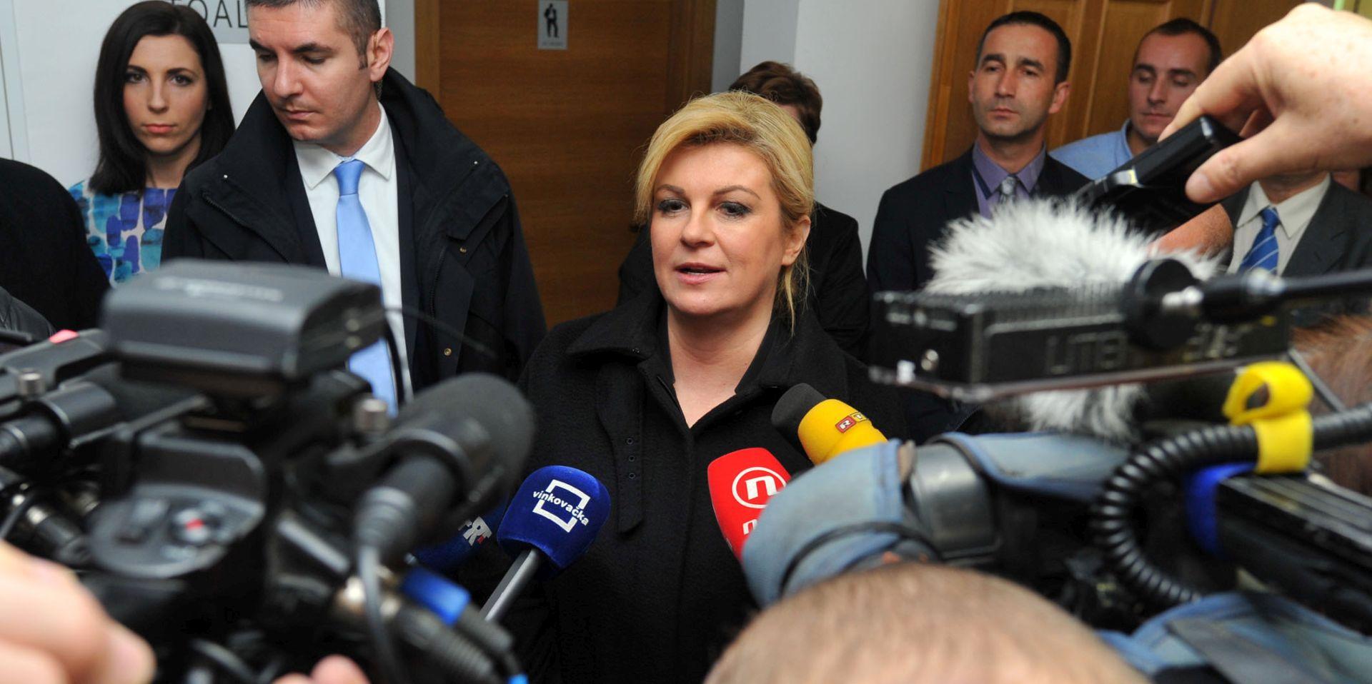 Grabar-Kitarović: Povjerenstvo je prekoračilo ovlasti i ušlo u sferu političkog arbitriranja