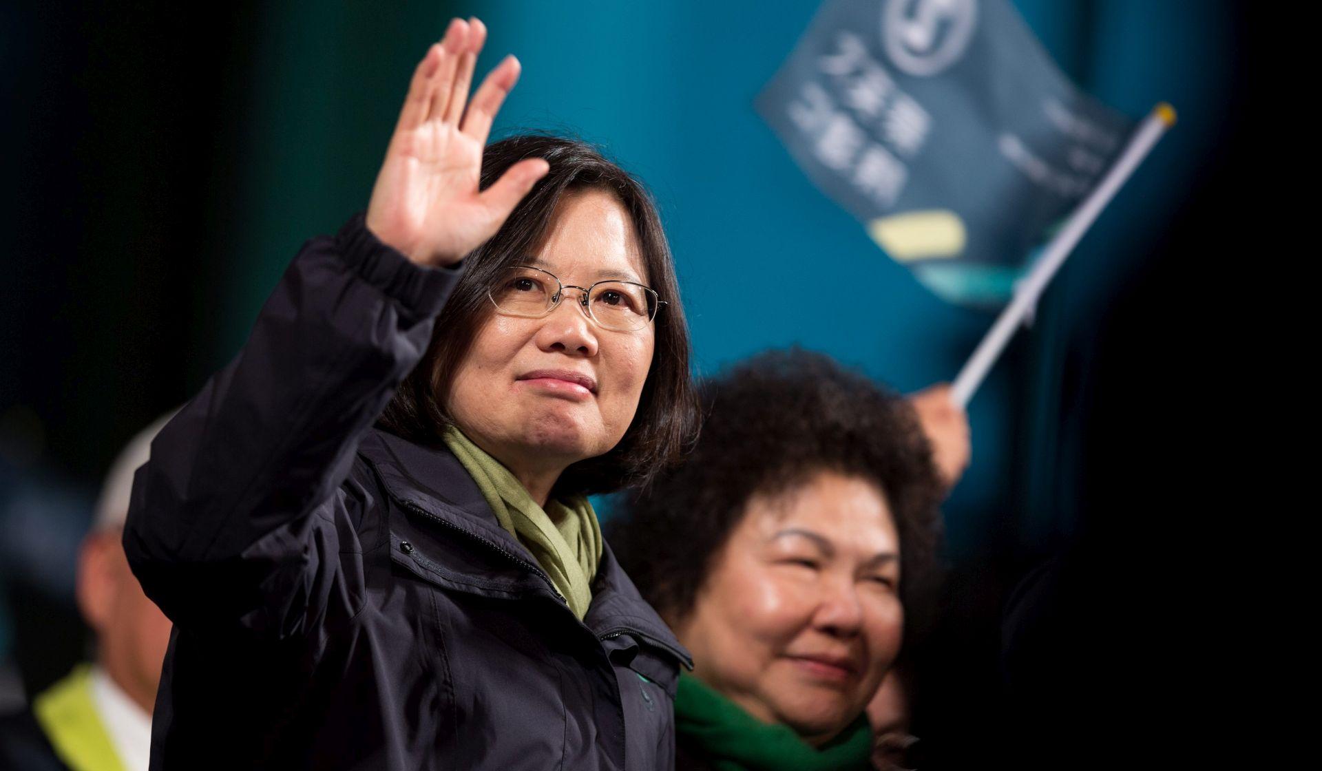 Tajvanska oporba dobila predsjednicu, Kina protiv neovisnosti