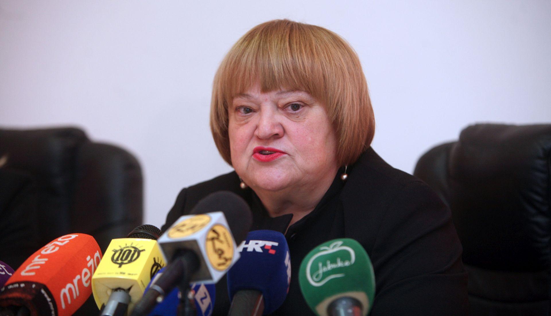 Mrak-Taritaš: Ne otklanjam mogućnost da se kandidiram za predsjednicu HNS-a