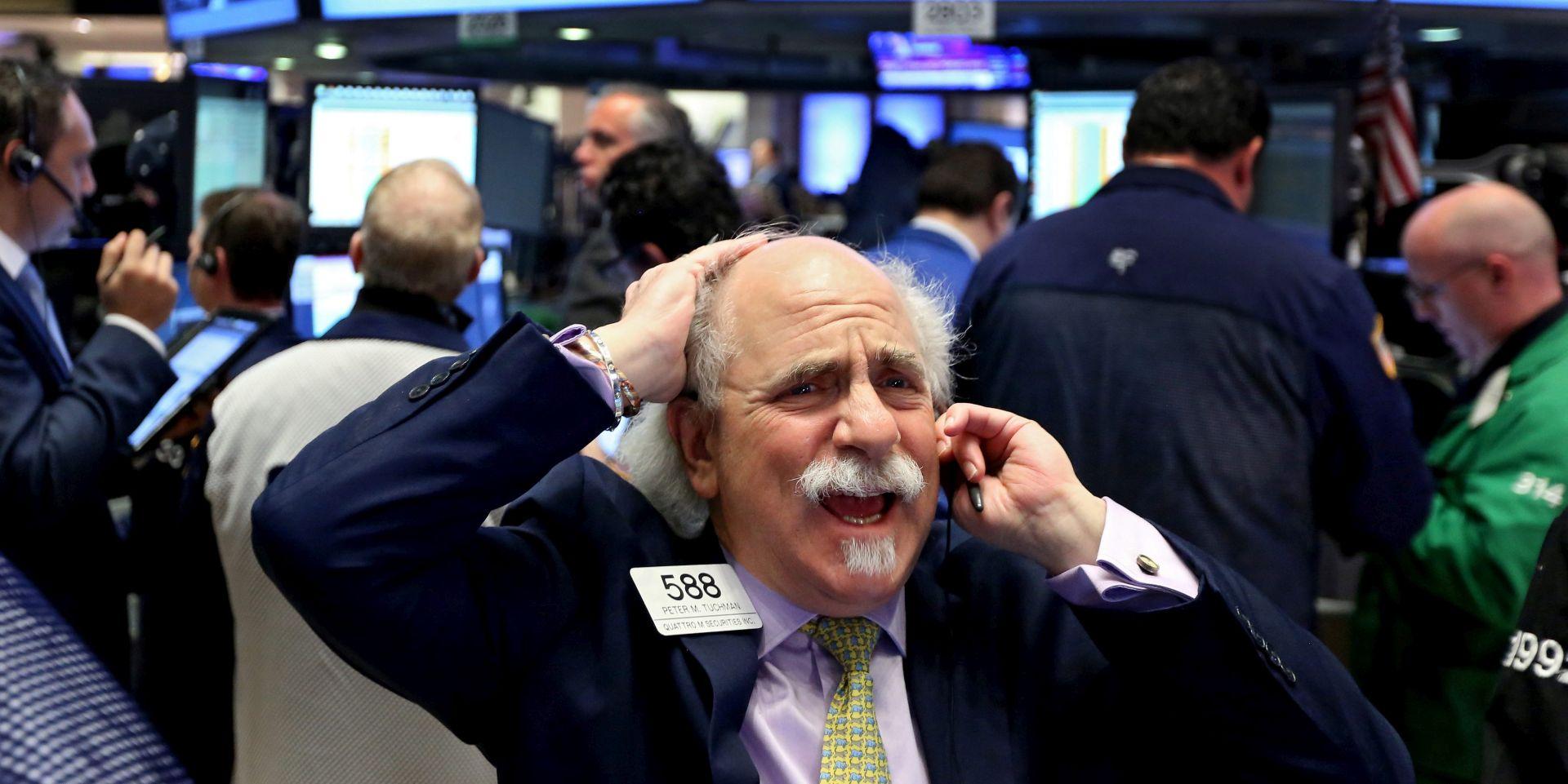 SVJETSKA TRŽIŠTA Na Wall Street S&P 500 zaronio najniže od 2014.