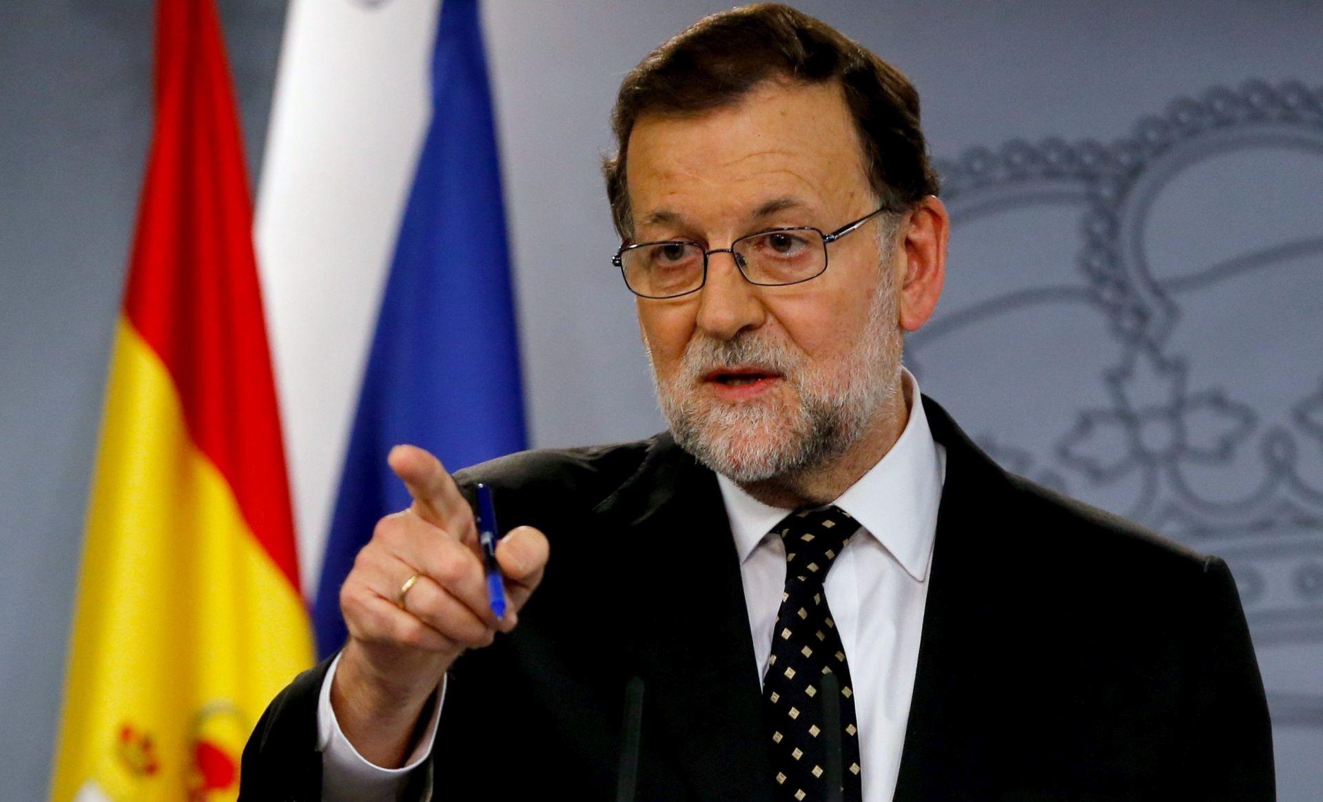 Rajoy: Španjolskom se neće moći vladati postane li Sánchez premijer