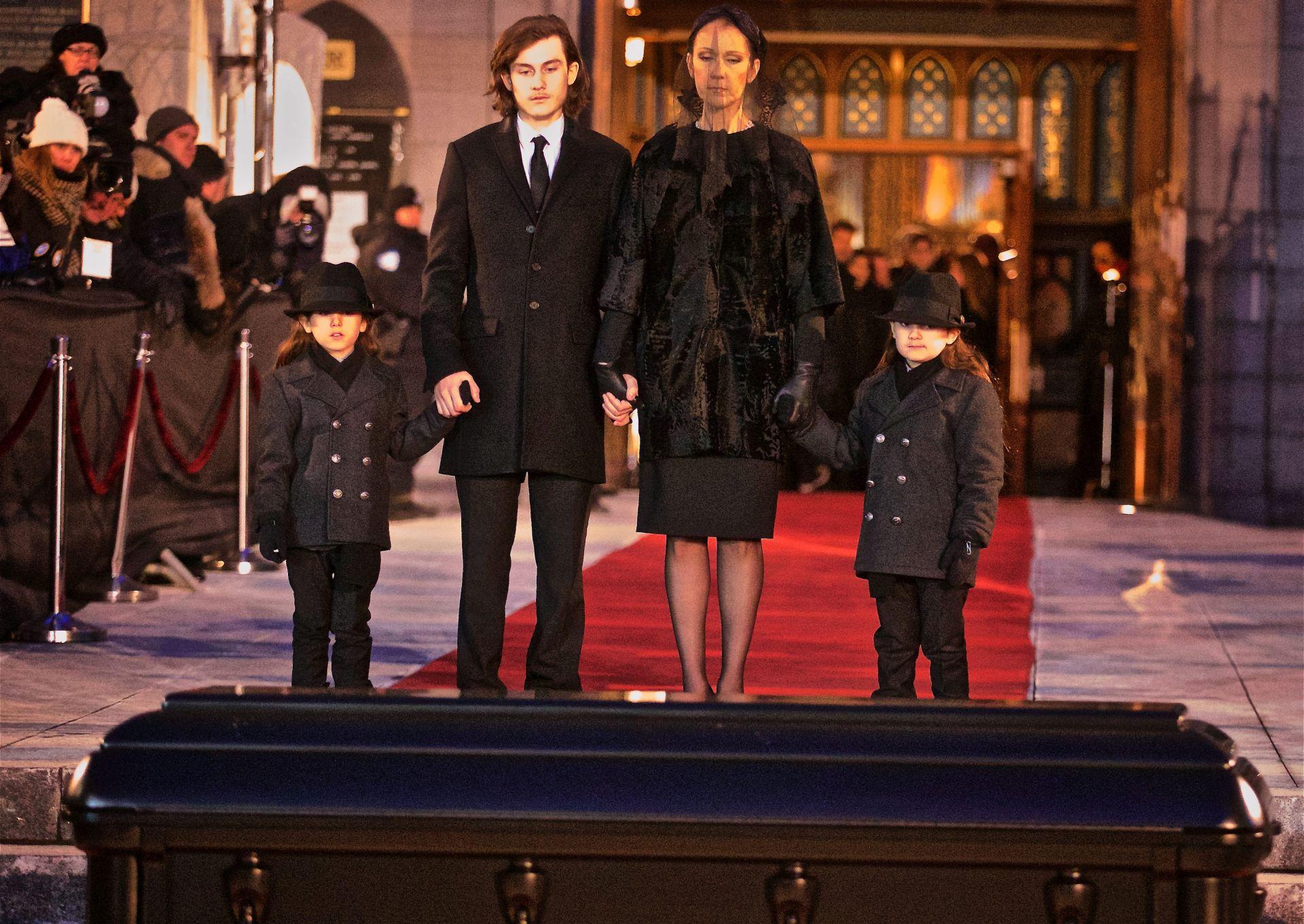 VIDEO: TUŽAN OPROŠTAJ U MONTREALU Celine Dion pokopala supruga