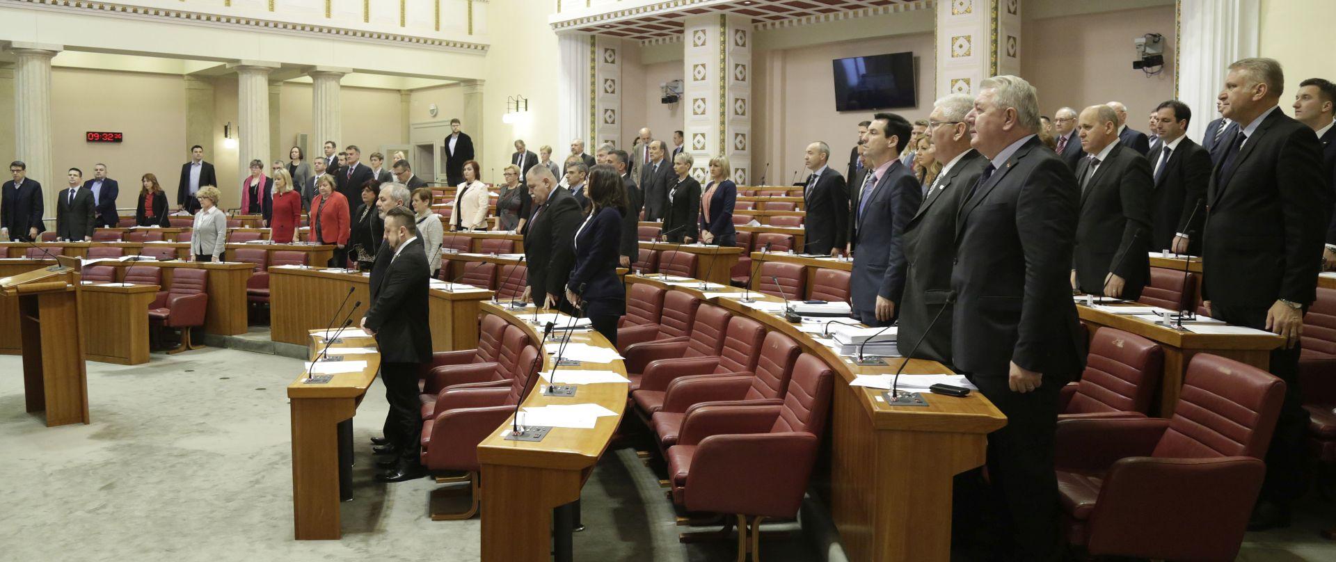 PROŠAO ZAKONSKI ROK: Devet saborskih zastupnika još nije podnijelo svoje imovinske kartice