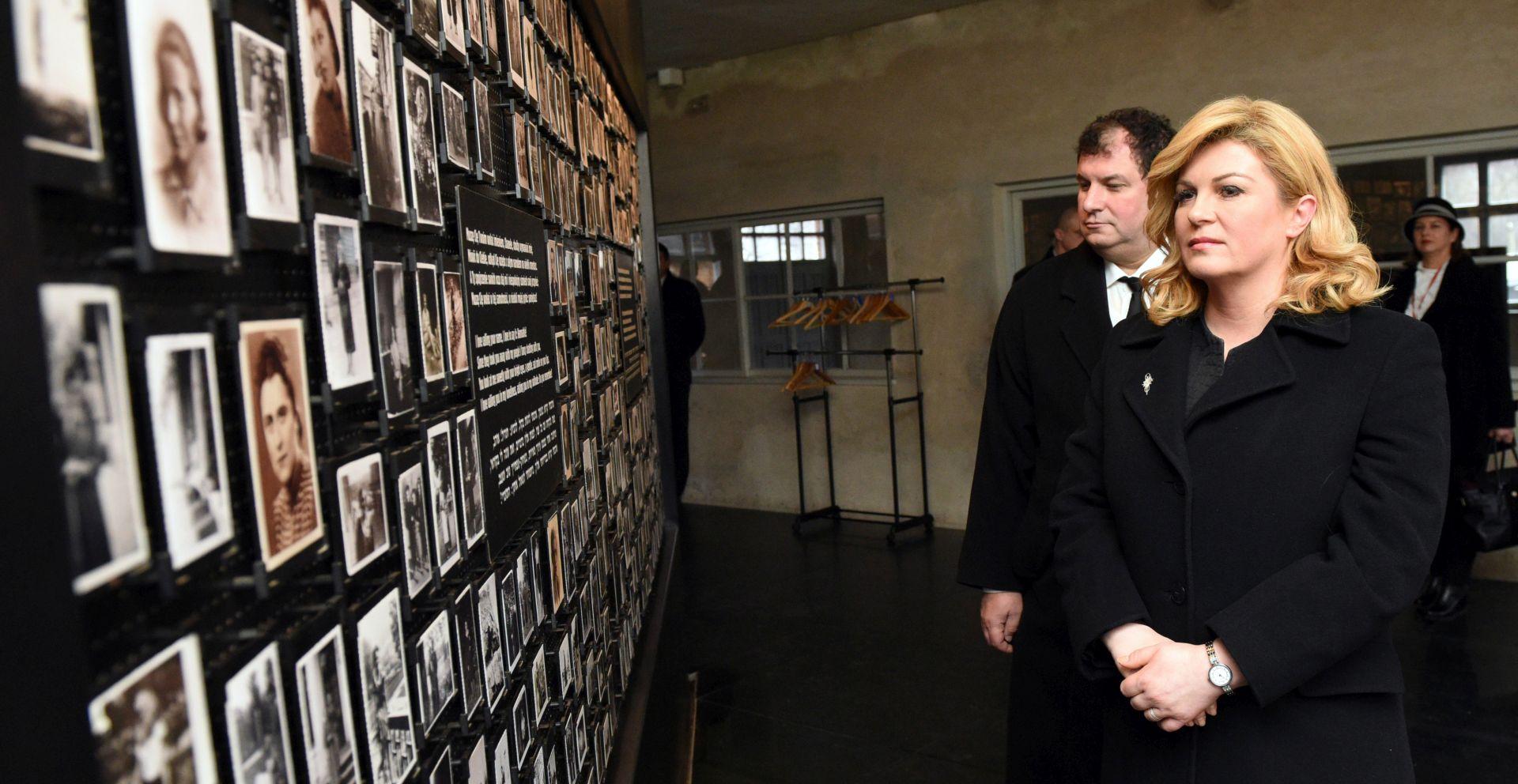 Grabar-Kitarović: U Auschwitzu se pitamo koliko je čovječanstvo zakazalo