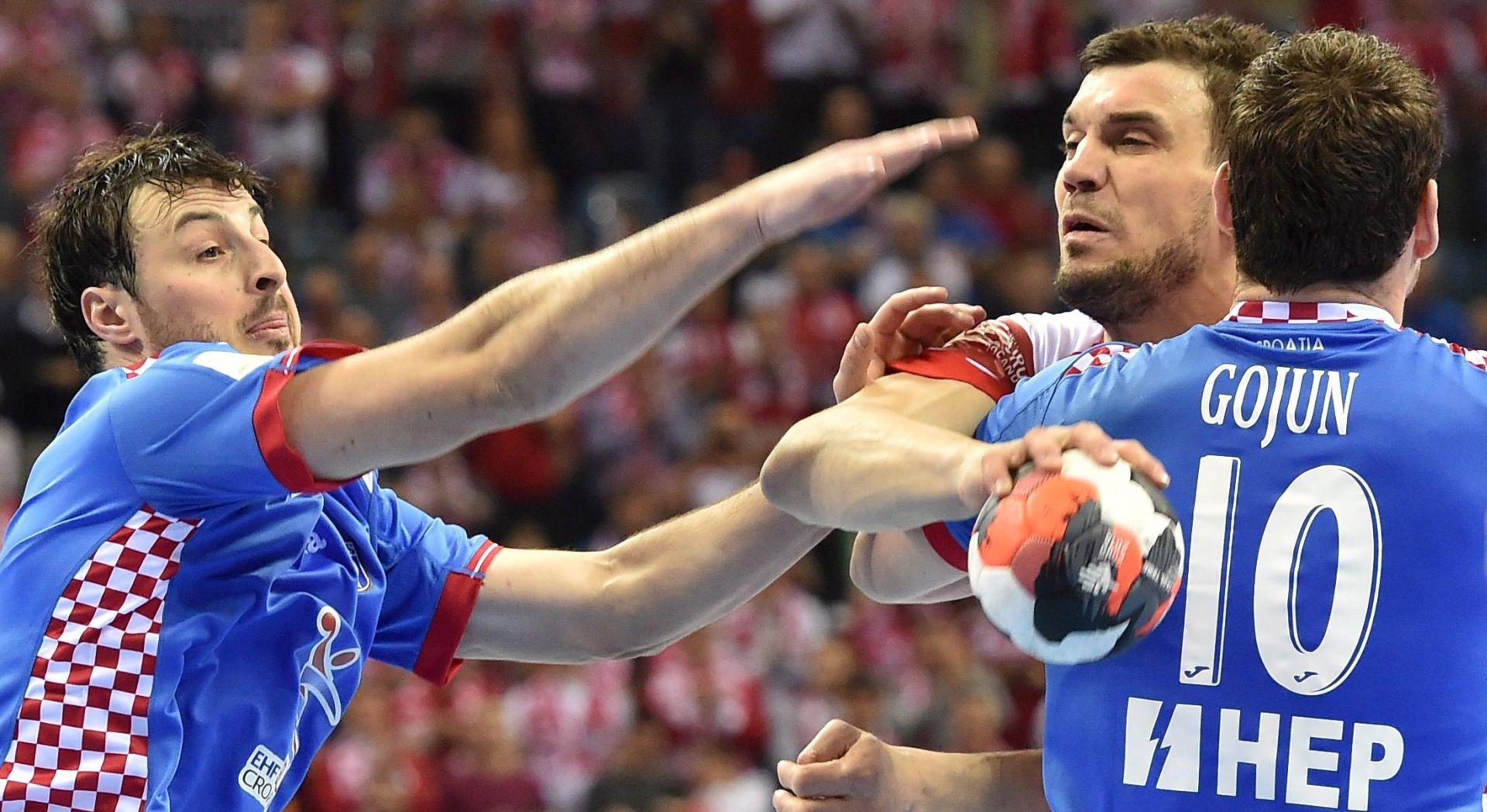 FOTO: KAKVA SENZACIJA HRVATA Hrvatski rukometaši 'razbili' domaćine Poljake s 14 razlike za polufinale EURO-a
