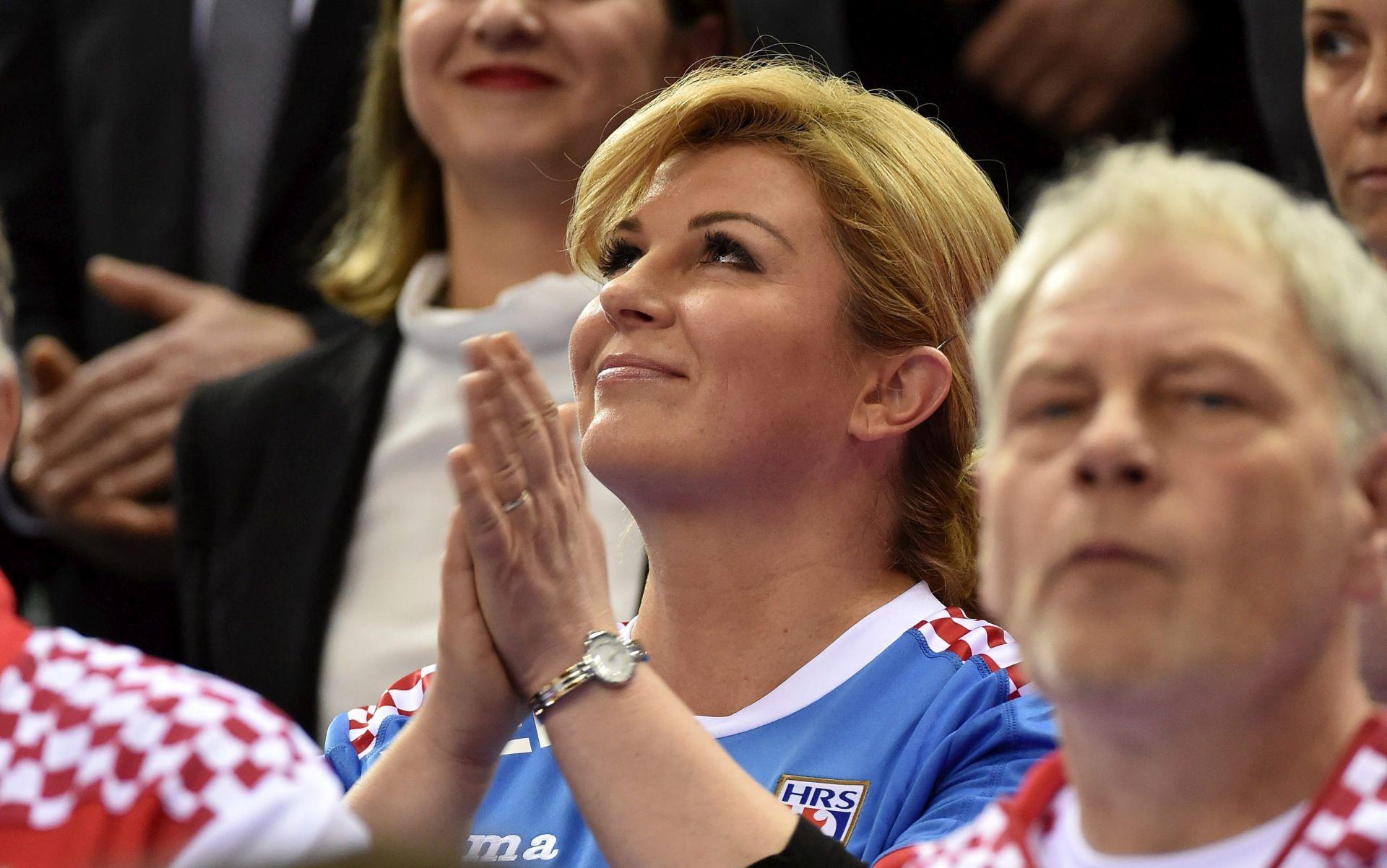 Hrvatska predsjednica impresionirana ponašanjem poljskih navijača
