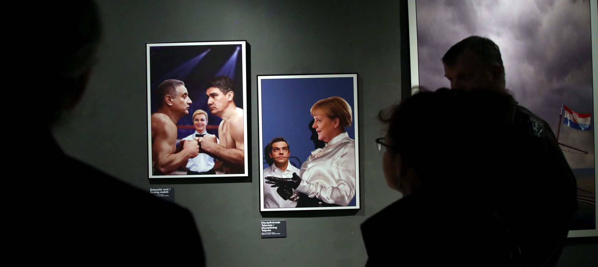 "Izložba ""Politika"" Milana Trenca u Muzeju za umjetnost i obrt"