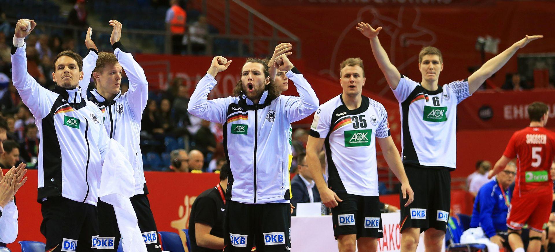 EUROPSKO RUKOMETNO PRVENSTVO Nijemci prvi finalisti, svladali Norvežane nakon produžetaka