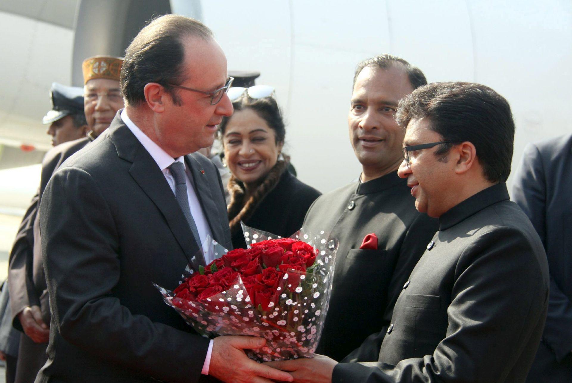 TRODNEVNI POSJET: Hollande u Indiji o terorizmu, energetici, prodaji Rafale-a