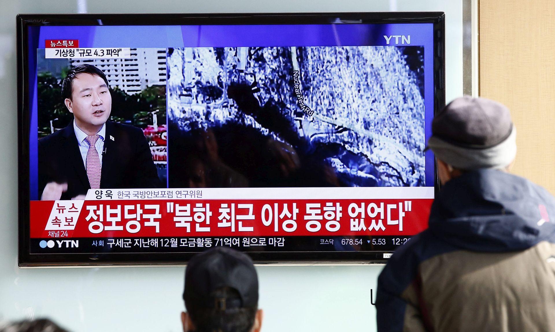 Južna Koreja: Teško je povjerovati da se radi o hidrogenskoj bombi