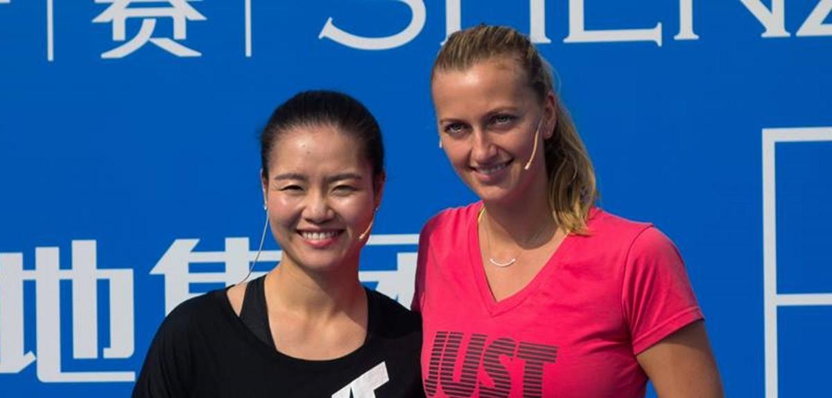 VIDEO: Poznate tenisačice Li Na i Petra Kvitová trenirale djecu