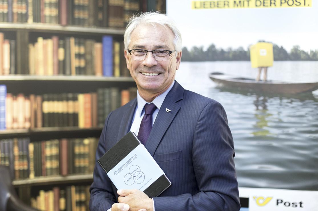 Georg Pölzl, predsjednik Uprave Austrijske pošte, većinskog vlasnika tvrtke Weber Escal