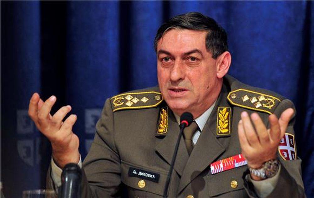 Načelnik Glavnog stožera Vojske Srbije ne vidi naoružavanje Hrvatske kao prijetnju Srbiji