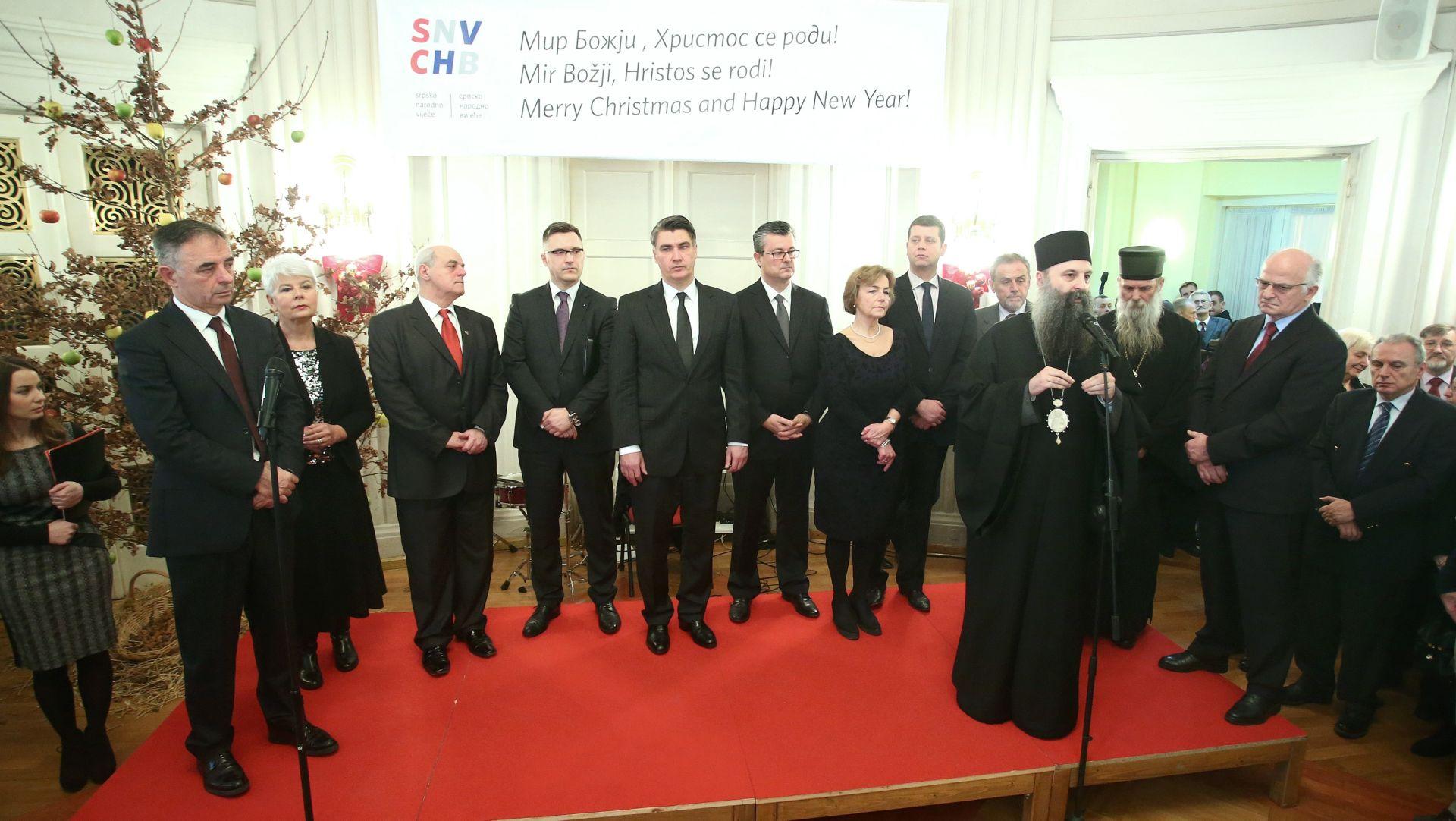 U HND-u tradicionalni prijem SNV-a u povodu pravoslavnog Božića