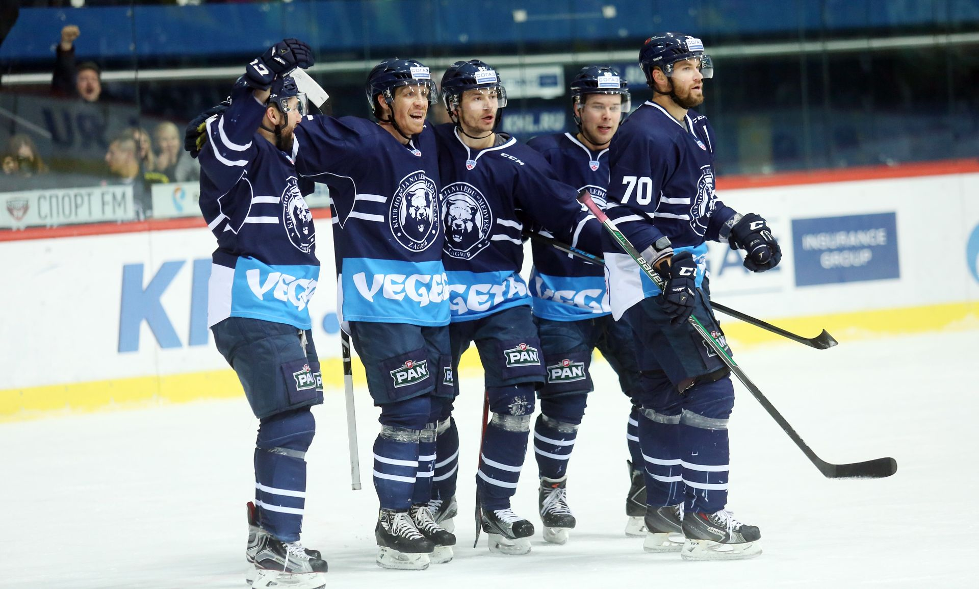 KHL: Medveščak u gostima pobijedio Spartak sa 4-1