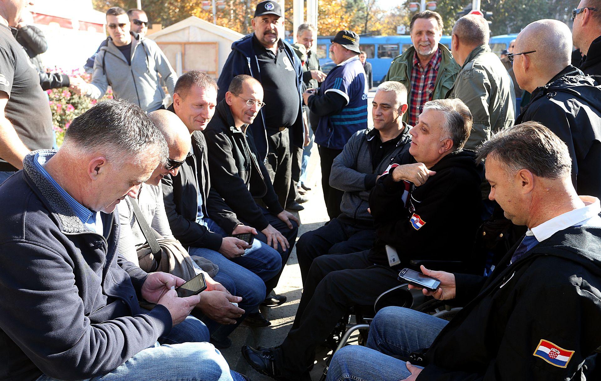Prosvjednici iz Savske: Nismo razgovarali s pojednicima koji sebe vide kao ministra branitelja