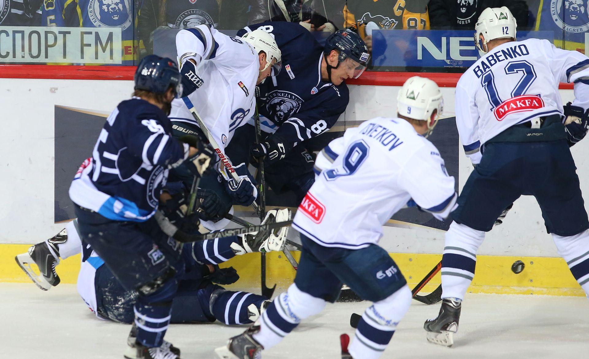 KHL: Medveščak u Domu sportova srušio veliki Dinamo