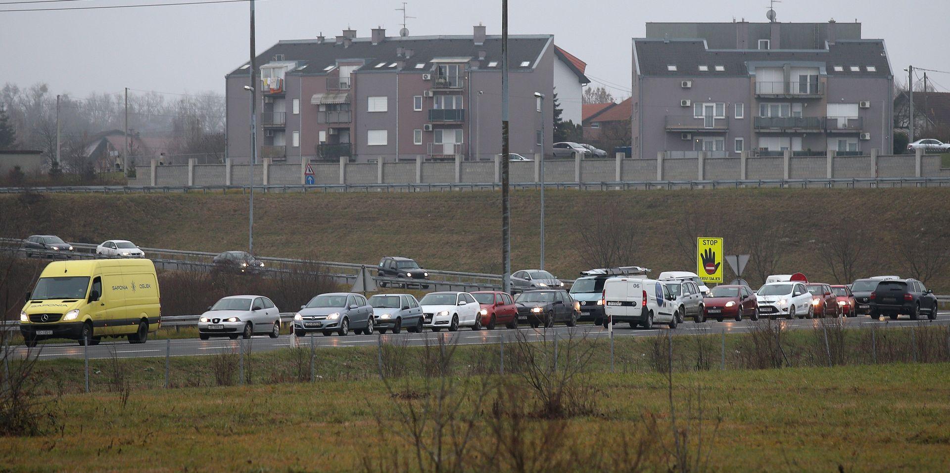 HAK Kolnici mokri i skliski, zbog nesreće na Zagrebačkoj obilaznici usporen promet