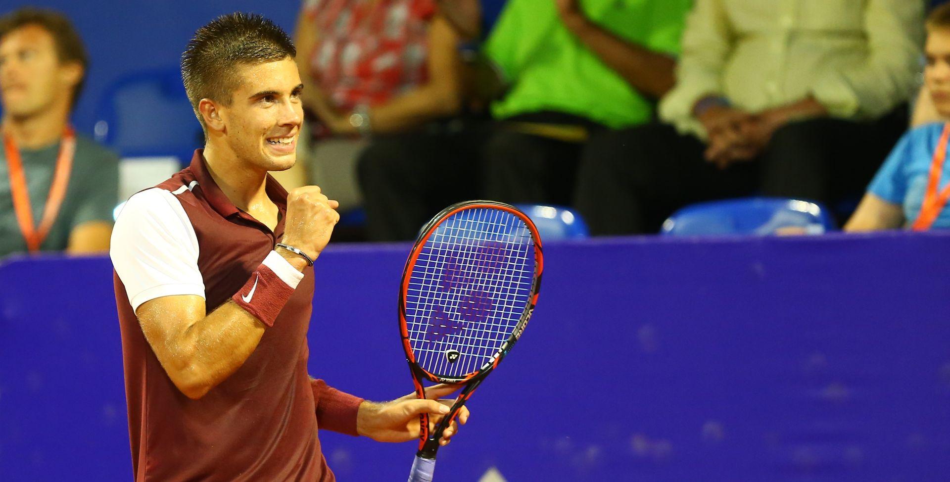 ATP CHENNAI Borna Ćorić u četvrtfinalu, Ante Pavić ispao