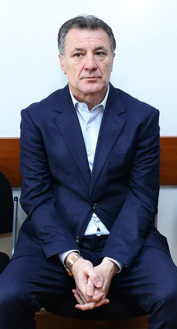Dino Rađa je strastveni navijač Hajduka i to će vjerojatno pomoći Karamarku kako bi odagnuo sumnje u svoju bliskost sa Zdravkom Mamićem. FOTO: Anto Magzan/PIXSELL