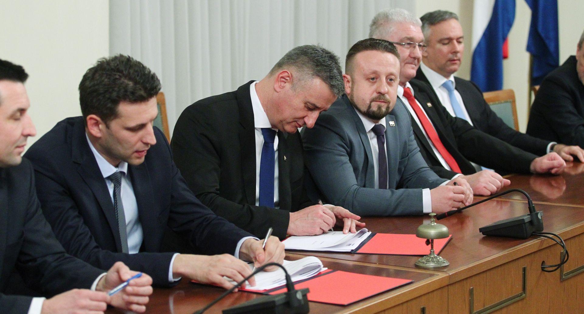 Najveći dio sporazuma Domoljubne koalicije i Mosta posvećen demografskoj obnovi