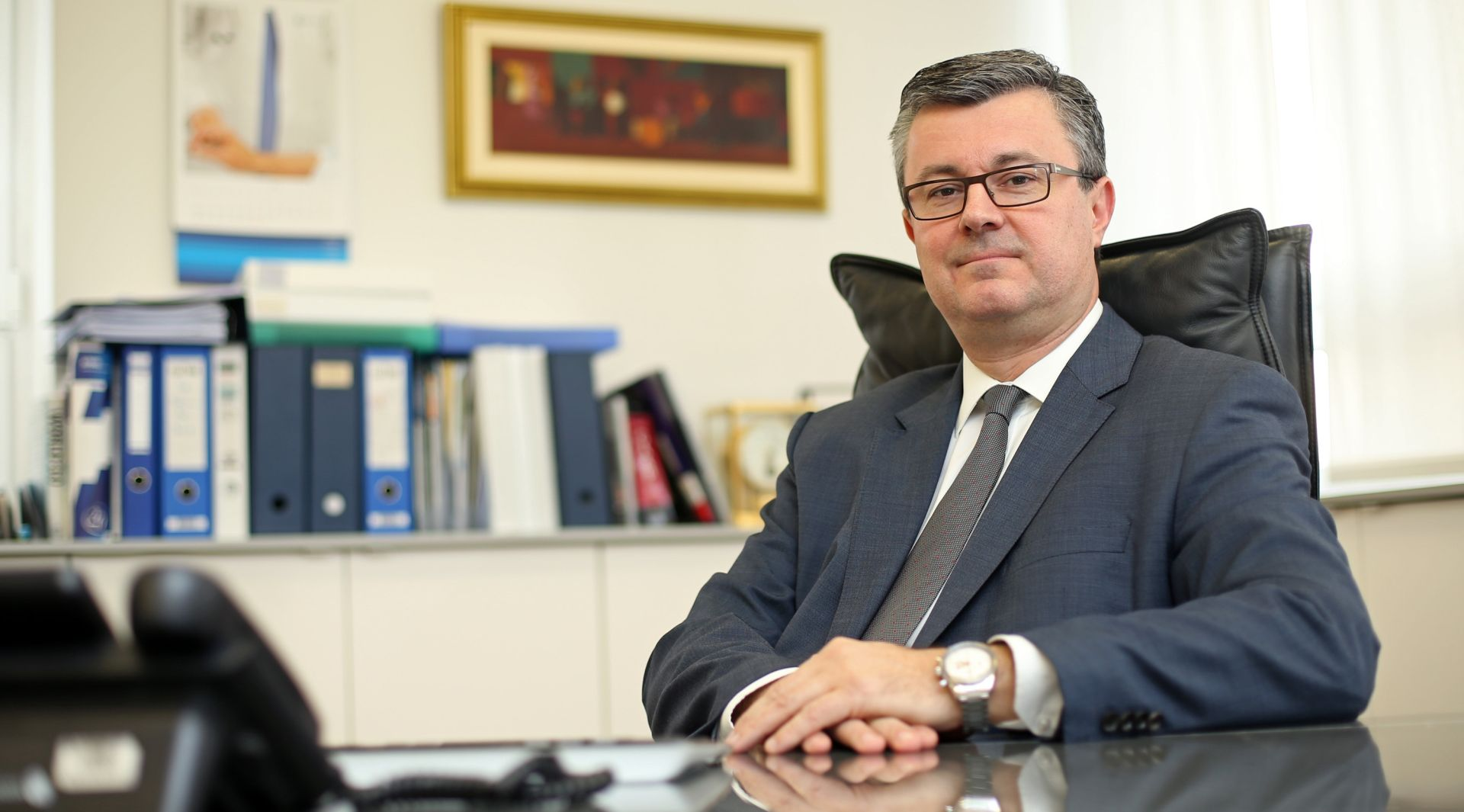 ČELNIK UNICREDITA Dobar dojam sa sastanka s Oreškovićem