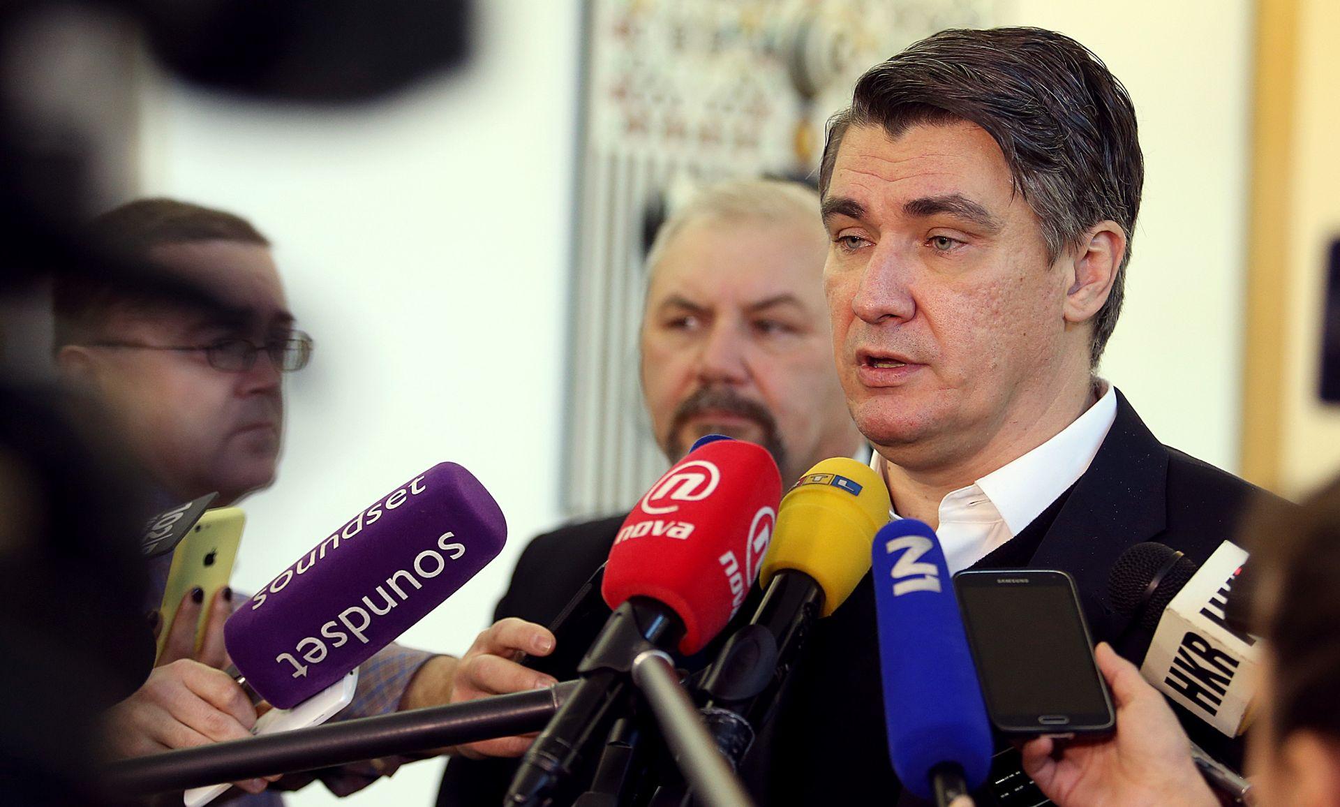 Milanović: Moramo biti vrlo konstruktivna, jaka, kritična i žestoka oporba koja neće biti nasilna