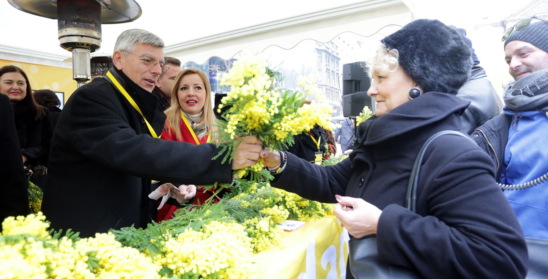 Obilježen 9. hrvatski dan mimoza i 5. nacionalni dan borbe protiv raka maternice