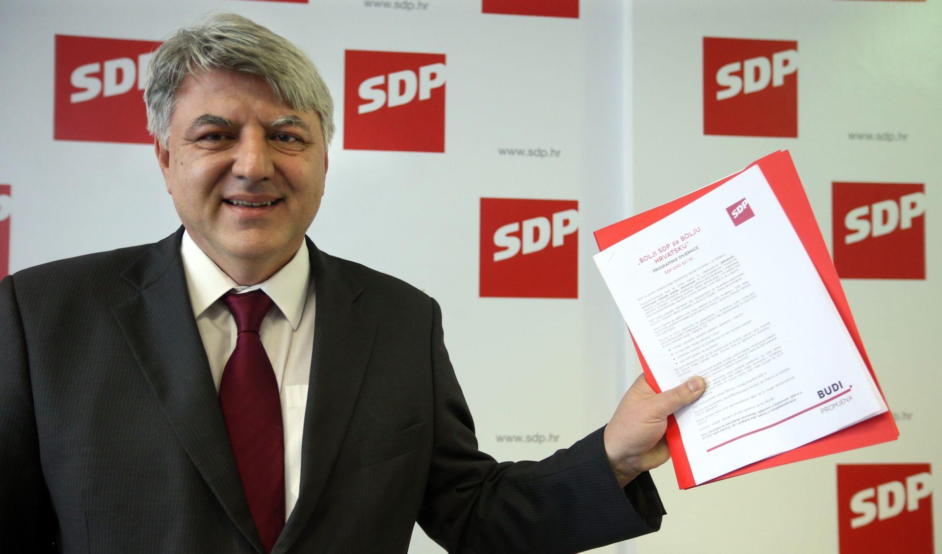 Komadina predstavio kandidaturu – zalaže se za demokratizaciju i decentralizaciju SDP-a