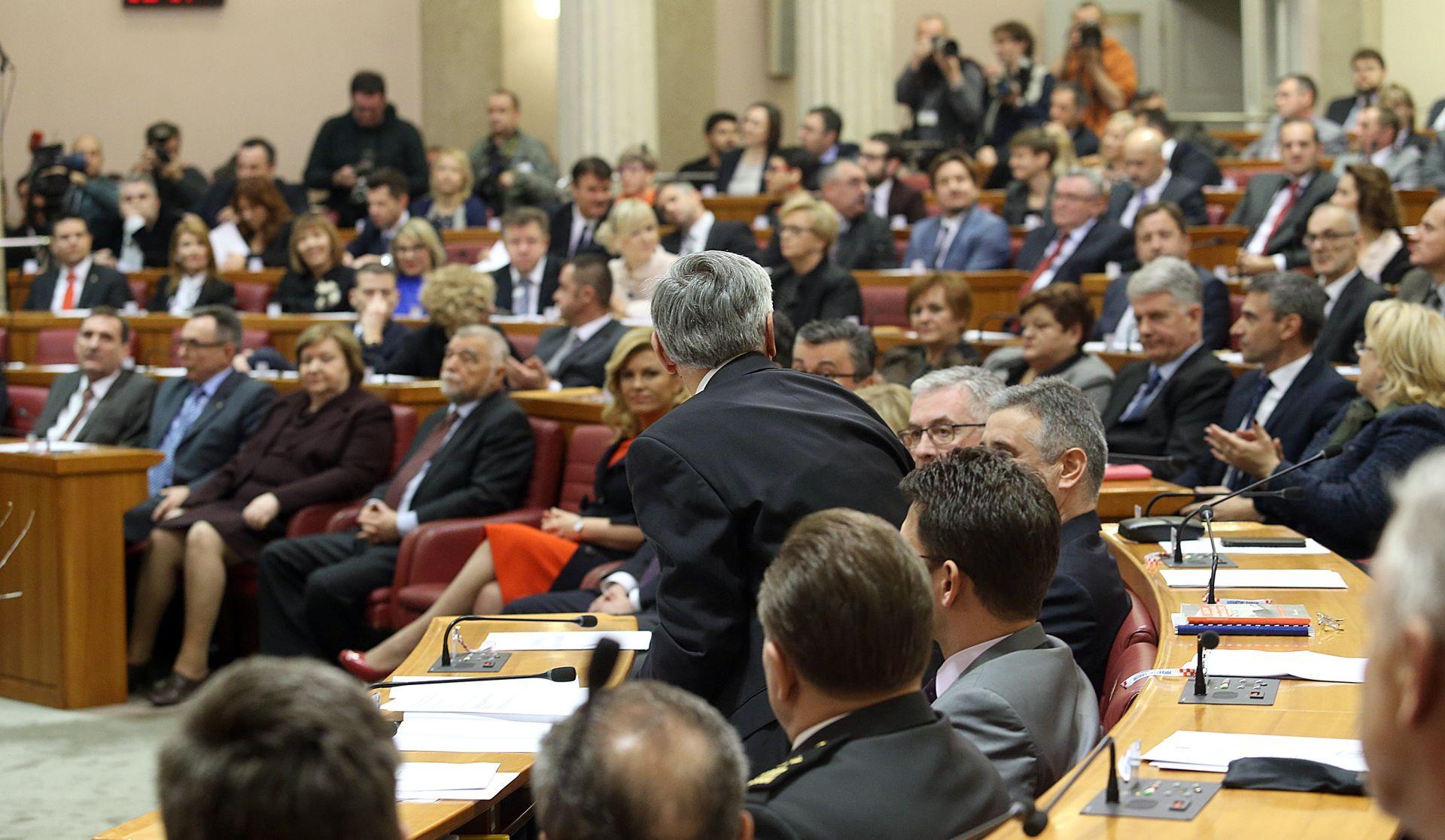 PRVA REDOVNA SJEDNICA Sabor: Potvrđivanje Vlade, odbori i 25 izvješća