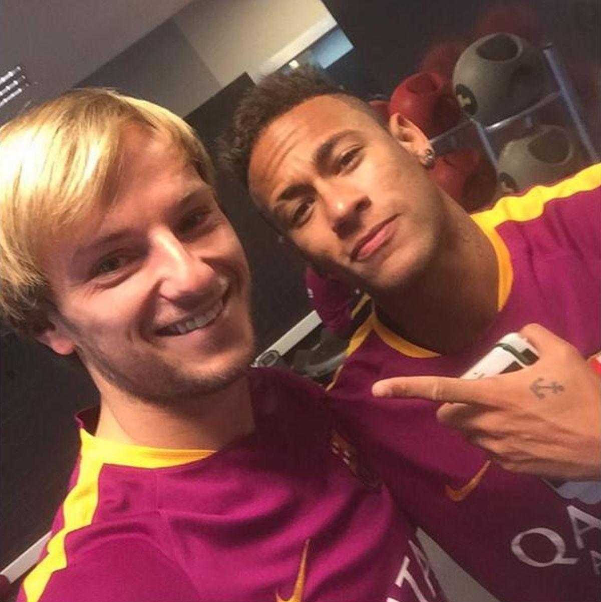 """'HVALA BRATE' Rakitić se preko Instagrama zahvalio Neymaru na glasu: """"Idemo dalje, sa pobjednicima"""""""