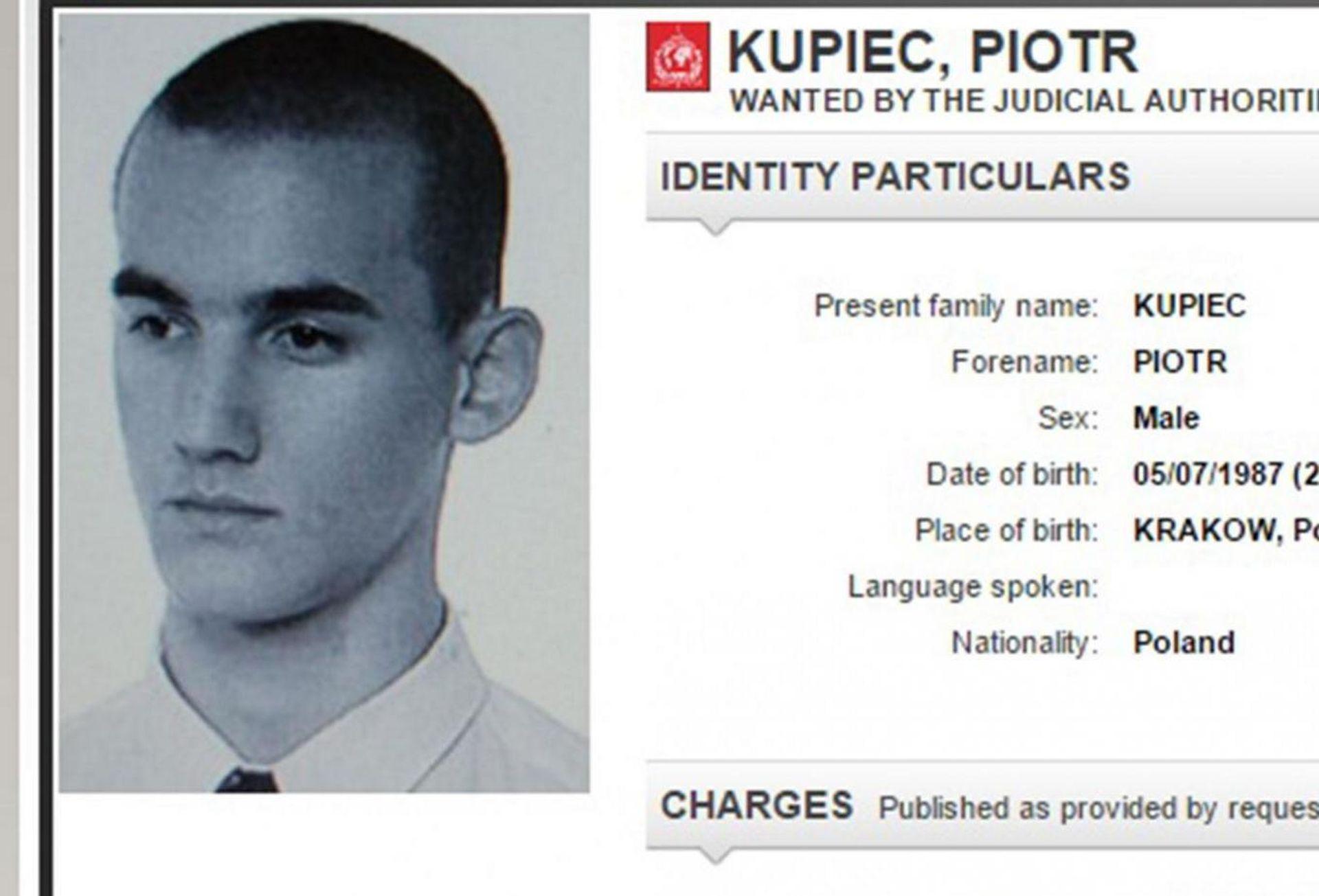 LICE S INTERPOLOVE TJERALICE Traženi kriminalac uhićen u restoranu Subway, gdje je i radio