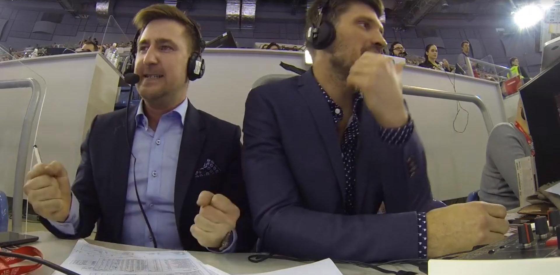 VIDEO: URNEBES NA TRIBINAMA Pogledajte kako su pobjedu protiv Francuza 'odradili' norveški komentatori
