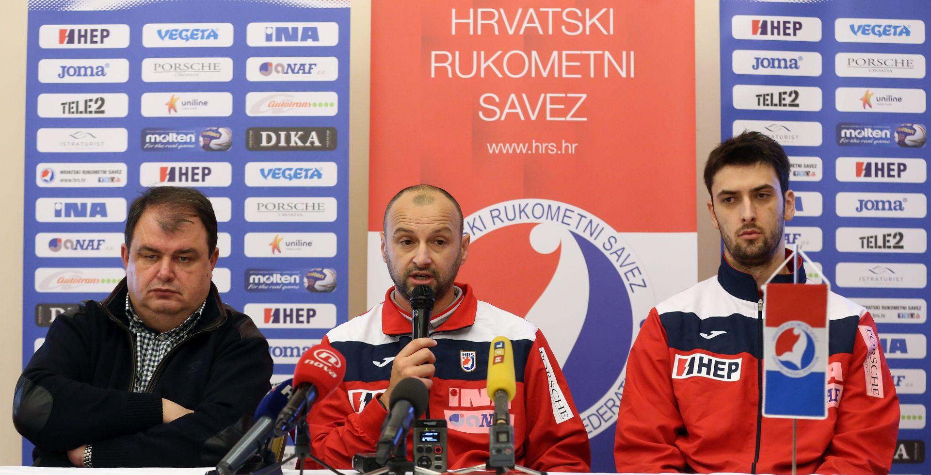 Izbornik Babić: Unatoč problemima tijekom priprema vjerujem u svoje igrače