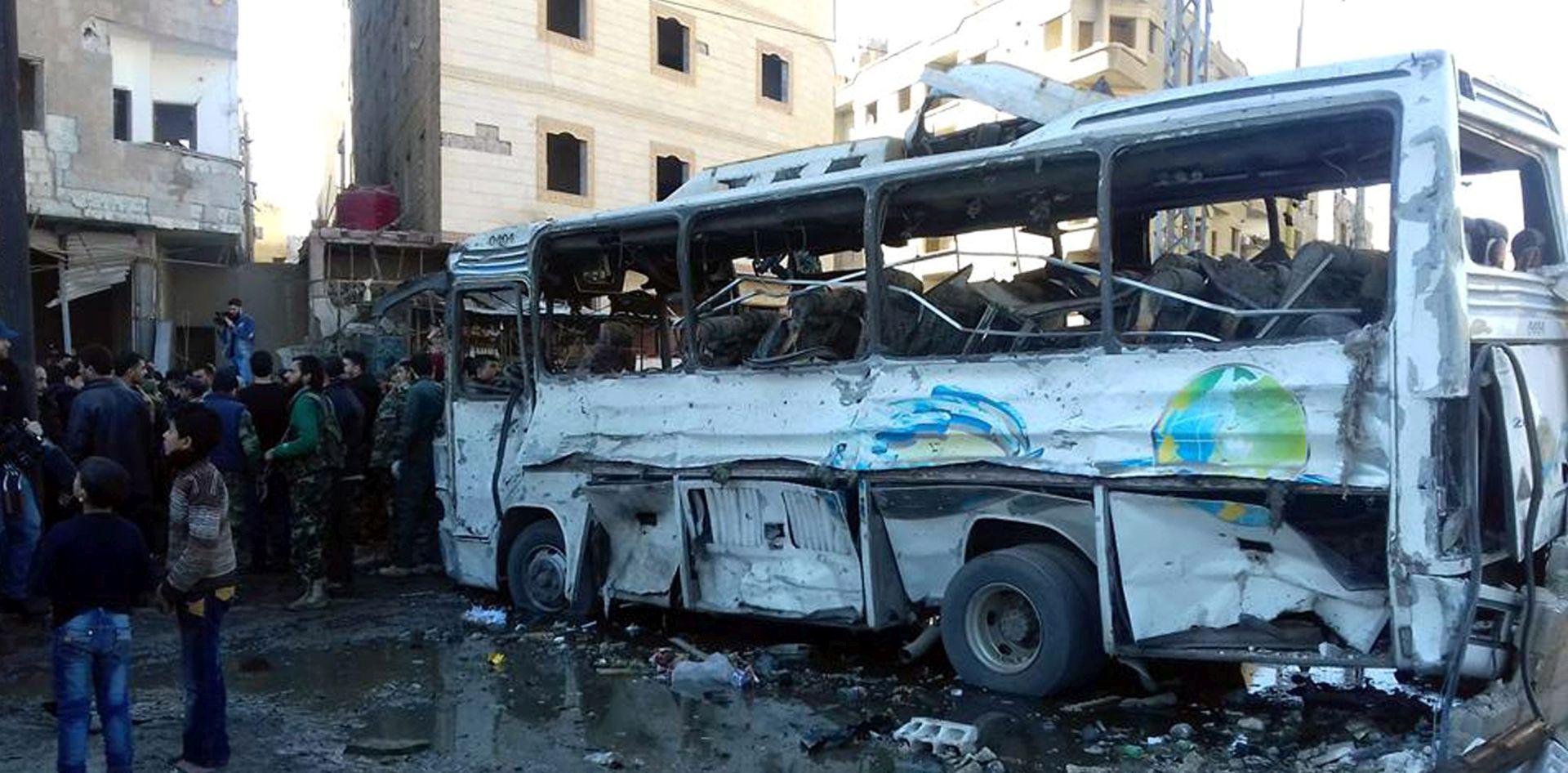 BOMBAŠKI NAPAD: Sirijski pregovori ugroženi nakon napada sa 60 mrtvih