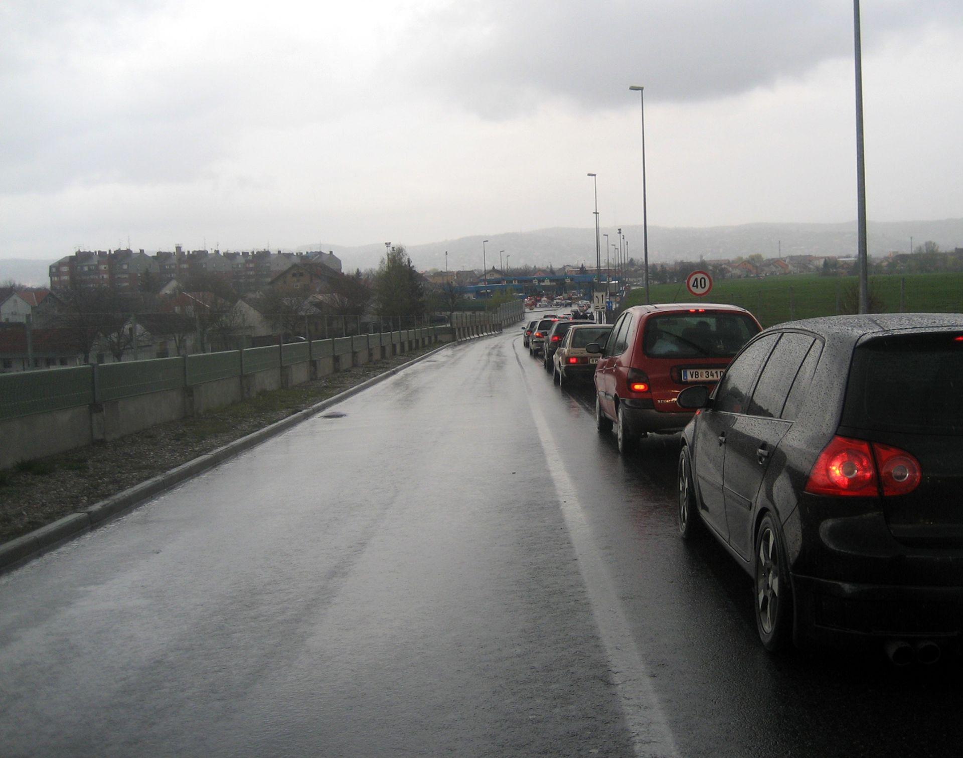 HAK Pojačan promet na graničnim prijelazima