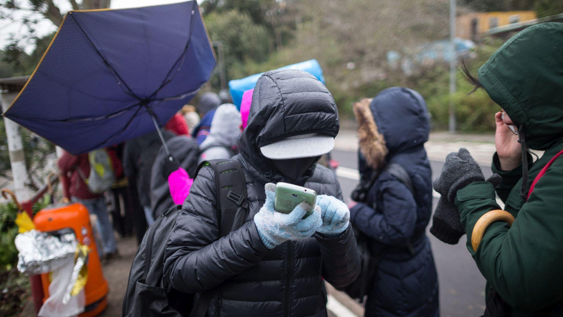 HLADNI VAL: U Hong Kongu najniže temperature u gotovo 60 godina