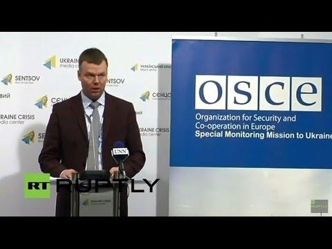 VIDEO: Medijska konferencija OSCE-a o stanju u Ukrajini