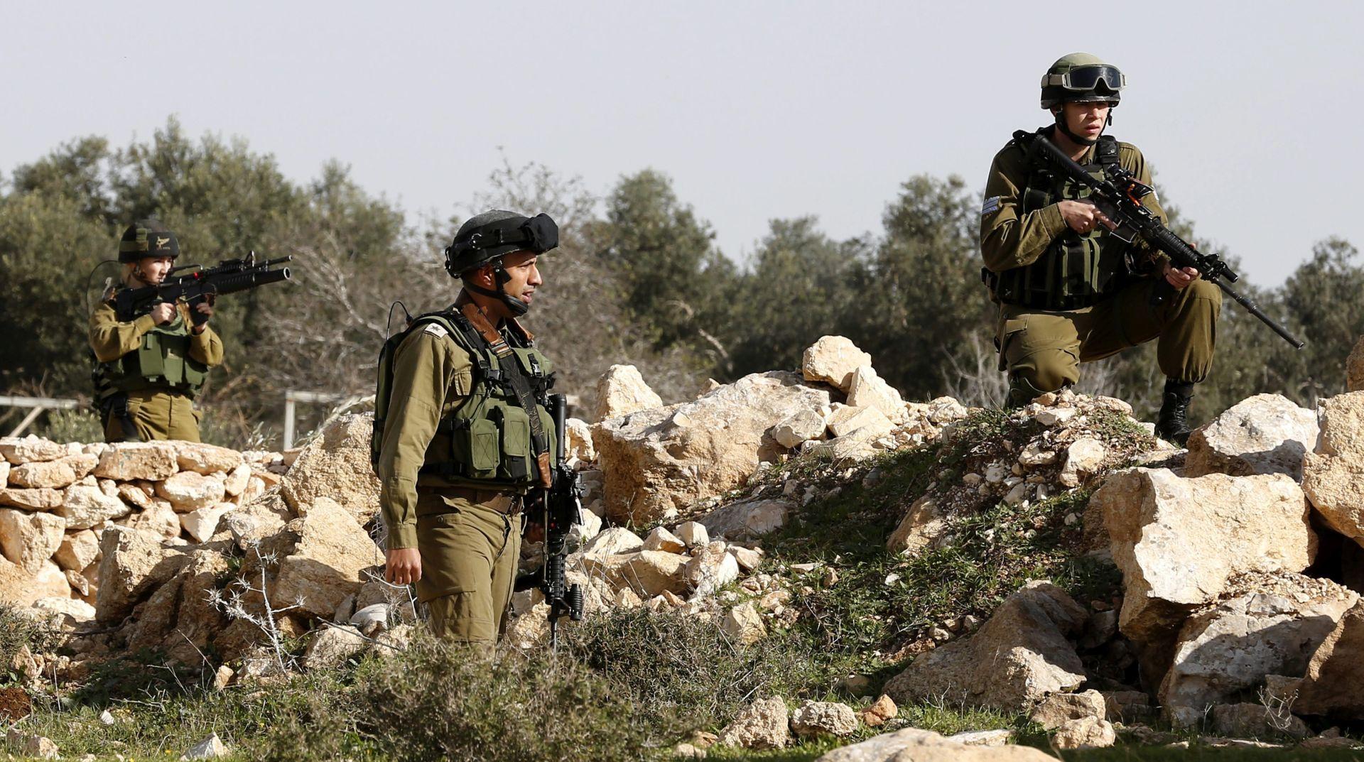 Četvorica izraelskih vojnika ranjena u eksploziji na granici s Gazom