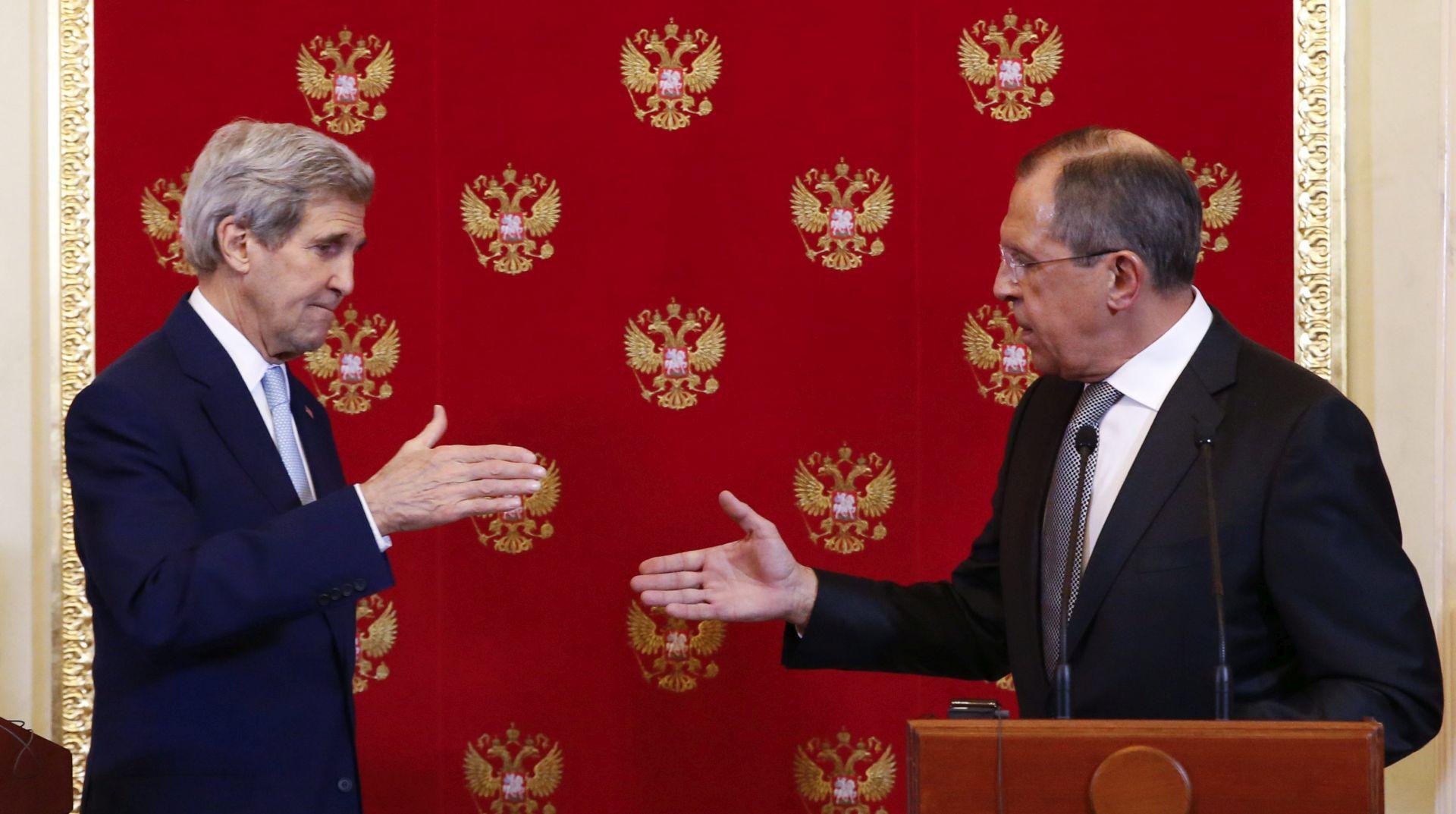 O SIRIJSKOJ I UKRAJINSKOJ KRIZI: Lavrov i Kerry 20. siječnja u Zuerichu