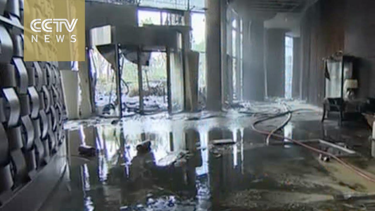 VIDEO: Snimka hotela u Dubaiu nakon požara