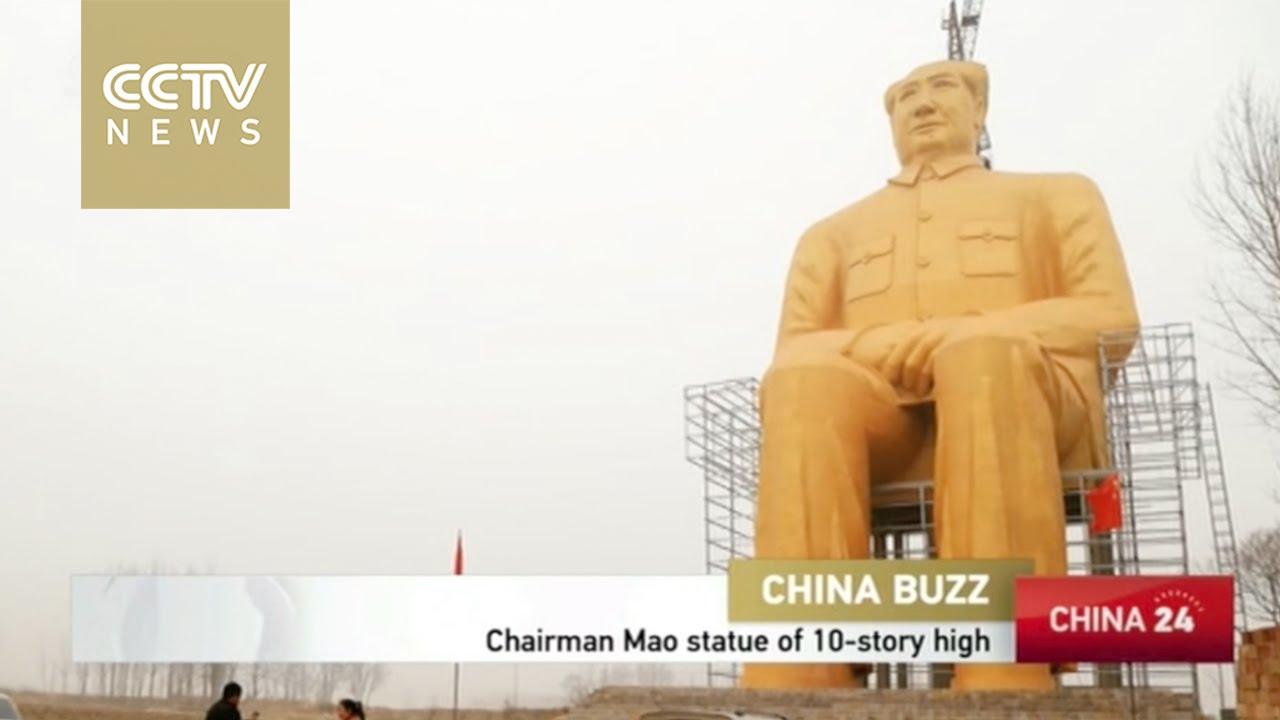 VIDEO: Ogromna skulptura Mao Ce Tunga osvanula u polju