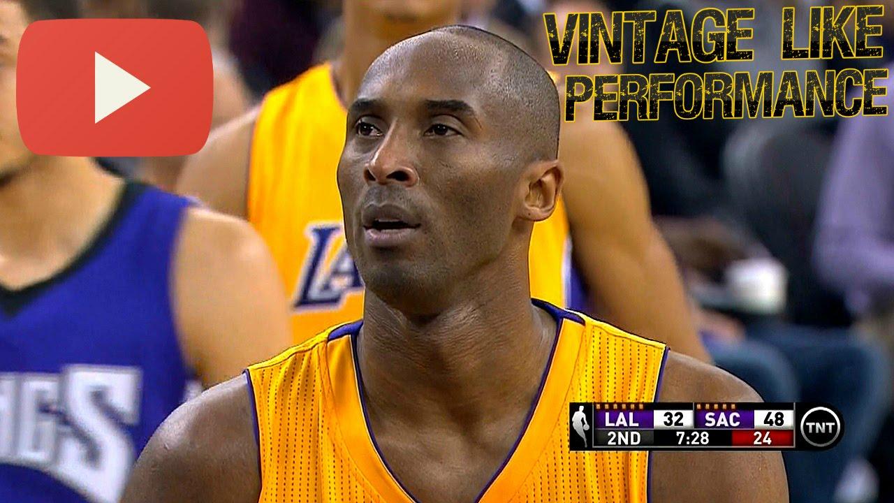 VIDEO: NBA: Bryant se s 28 koševa oprostio porazom u Sacramentu